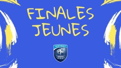 Le programme des finales Coupes Isère Jeunes ce samedi 1er juin à Reventin
