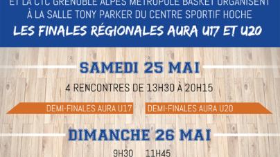 #Basket – Le programme des finales régionales masculines