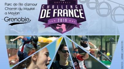 Les Grizzlys organiseront le Challenge de France de Softball féminin du 8 au 10 juin prochain à Meylan