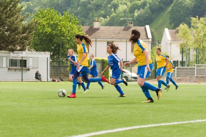 Un beau dimanche de football féminin à Villard-Bonnot