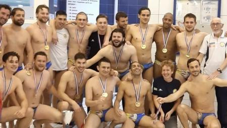 Water-Polo : Le Pont-de-Claix GUC champion de France de N2