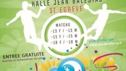 #Handball – Saint-Egrève accueille les finales Coupe Jacques Battu 2019 ce samedi