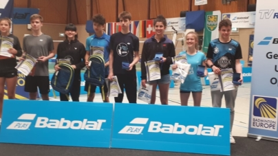 #Badminton – 3 médailles ramenées du tournoi international de Refrath U17