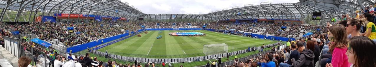Air de samba au Stade des Alpes avec la victoire du Brésil