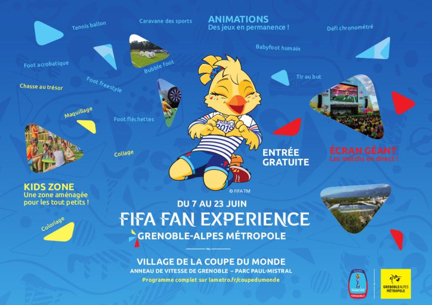 Le programme du Village de la Coupe du Monde