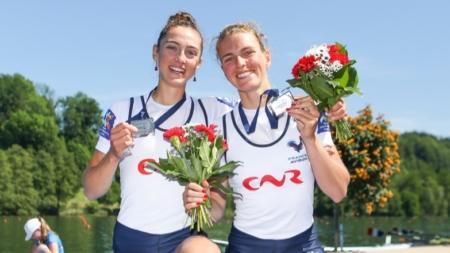 Une médaille d'argent pour Laura Tarantola aux championnats d'Europe d'Aviron