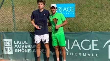 ITF Uriage Eau Thermale : victoire finale d'Alexis Gautier