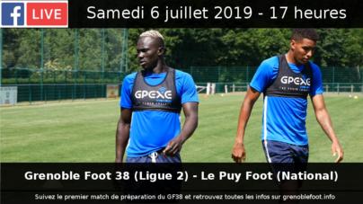 Live GF38 – Le Puy (6 juillet 2019)