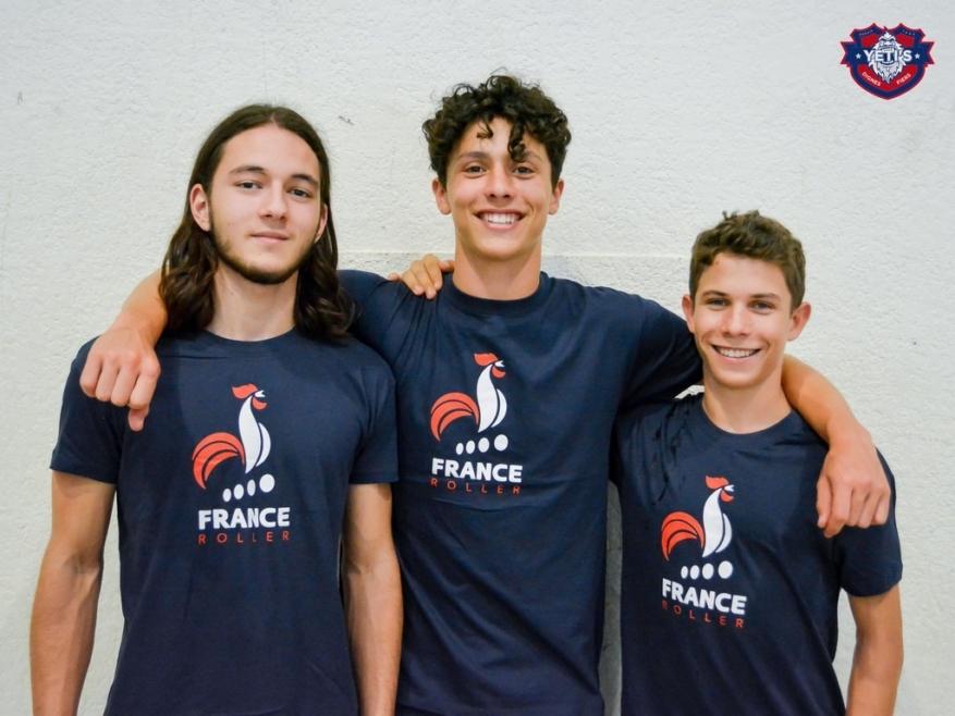Des jeunes Yeti's Grenoble médaillés lors des championnats d'Europe de roller-hockey