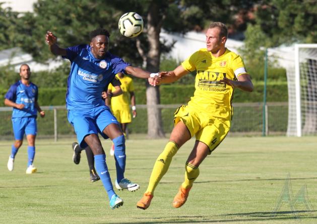 FC Echirolles – MDA Foot B (2-2) en images