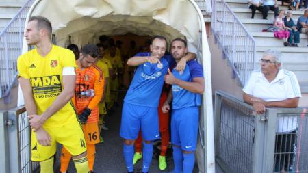 FC Échirolles : le groupe pour Limonest Saint-Didier