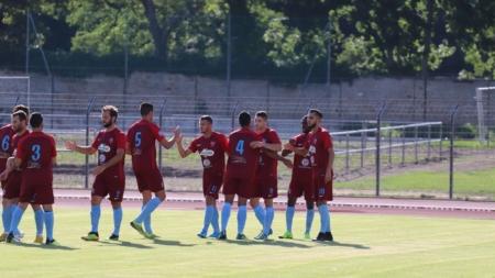 FC Bourgoin-Jallieu : le groupe contre Lyon Duchère B