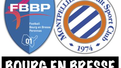 #U17 – Match de gala entre Montpellier et Bourg-Péronnas ce samedi