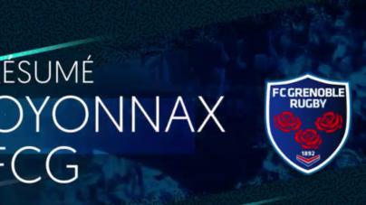 FC Grenoble – US Oyonnax : le résumé vidéo