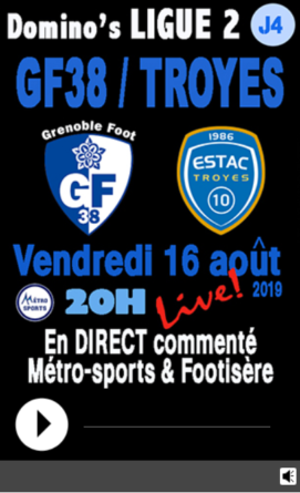 GF38 – ESTAC en direct