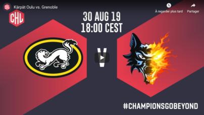 Suivez le match de CHL des Brûleurs de Loups en live vidéo