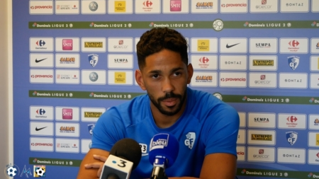 L'interview de Jérôme Mombris avant Niort – GF38