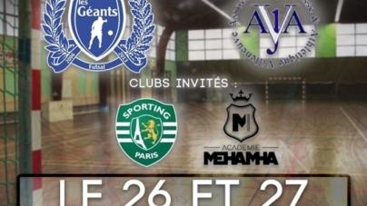 Les inscriptions sont ouvertes pour La VILLENEUVOISE FUTSAL CUP U13