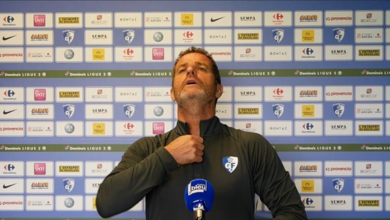 Philippe Hinschberger avant Châteauroux – GF38
