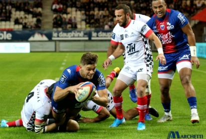 Pro D2 : Valence Romans s'incline face à Rouen