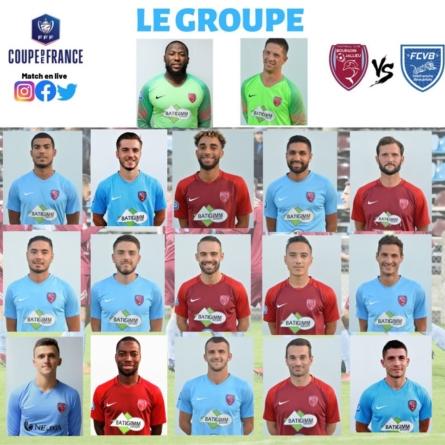 FC Bourgoin-Jallieu : le groupe contre Villefranche en coupe de France