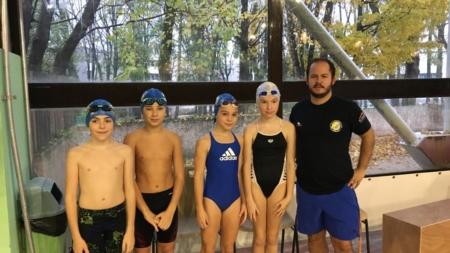 #Natation – Retour sur la compétition à Villefontaine pour les Pontois