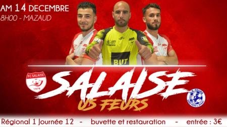 Yazid Chaouf (FC Salaise) : «à tout prix prendre les 3 points»