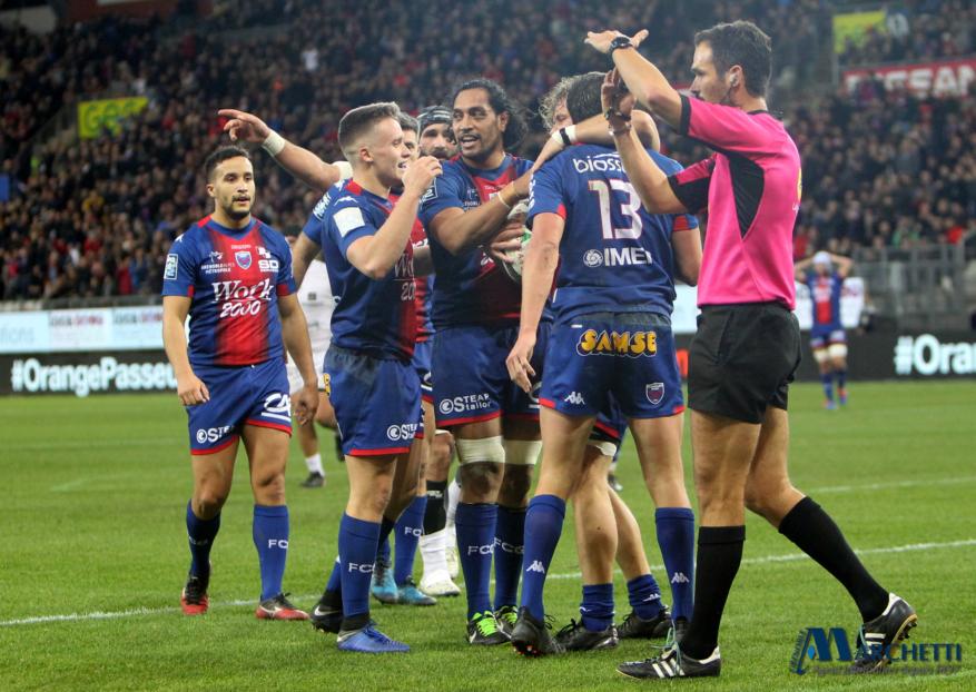 FC Grenoble : le XV de départ face à Perpignan