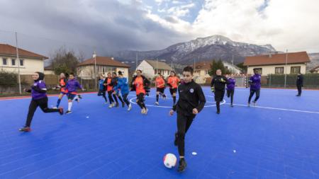 Un nouveau terrain de futsal inauguré à Échirolles