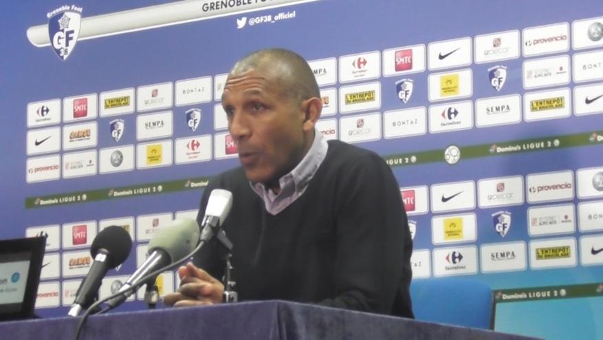 La réaction de Franck Passi après Grenoble – Niort (3-1)