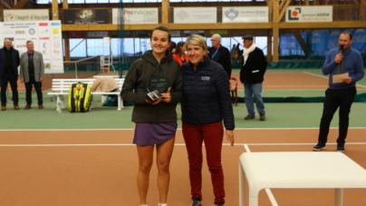 Engie Open de l'Isère : Clara Burel, jour de première