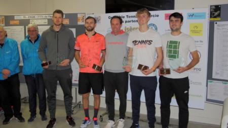 Trophée de la Ville de Grenoble : Artem Dubrivnyy et Andrew Paulson remporte le double