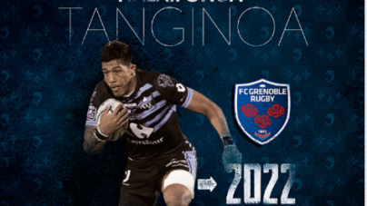 Tanginoa HALAIFONUA s'engage pour deux saisons avec le FC Grenoble