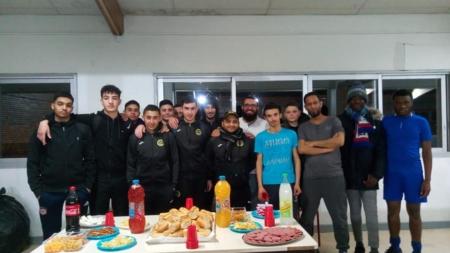 Rencontre amicale entre les U18 du FC Chavanoz et les jeunes de l'IDEF