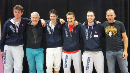 Escrime : Meylan Champion de France