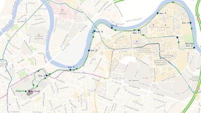 Le parcours des 10 km de Grenoble