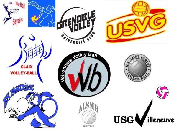 Bilan de la saison de volley-ball en Isère