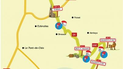 Semi-marathon Grenoble – Vizille : le parcours 2014