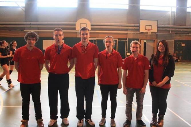 CFE volley-ball : les arbitres