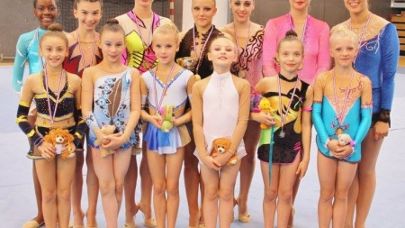 Départementaux GR : 15 podiums pour les gymnastes grenobloises