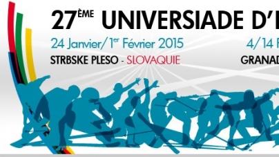 Universiade – Štrbské Pleso : le CRSU présente ses étudiants