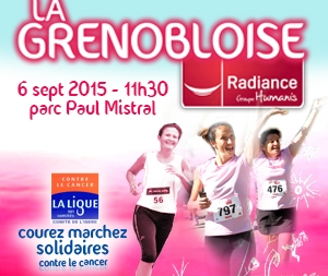Céline Leplan (ASPTT Grenoble Athlétisme) : «La Grenobloise Radiance, une course conviviale et solidaire»