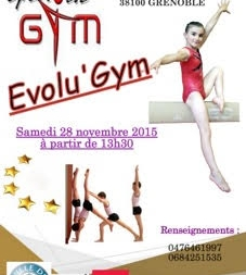 EVOLU'GYM par le Grenoble Gymnastique