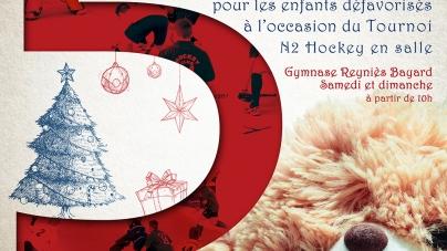 Noël du Hockey Club de Grenoble avec le Secours Populaire