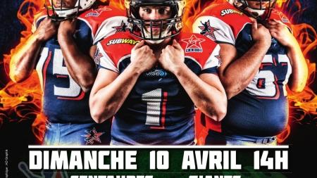 Un match de football américain à Lesdiguières