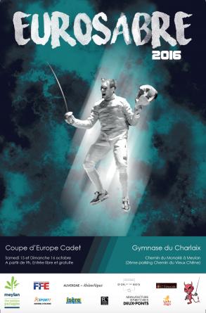 L'Eurosabre, la coupe d'Europe des – 17 ans, c'est ce week-end à Meylan !