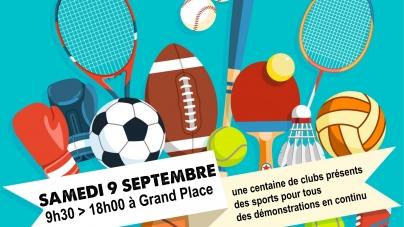 #Communiqué 14e Forum des Sports de Grenoble