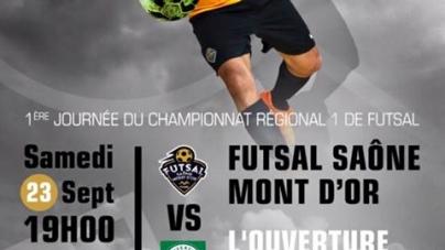 Futsal Saône Mont d'Or : C'est la reprise en R1 !