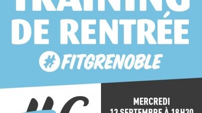 #Communiqué Entrainement gratuit et pour tout niveau organisé par FitGrenoble