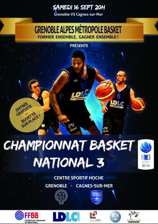 La saison démarre ce samedi pour le Grenoble Alpes Métropole Basket